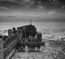 Sea defences West Runton by Paul Ward