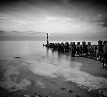 Sea defences West Runton 2 by Paul Ward