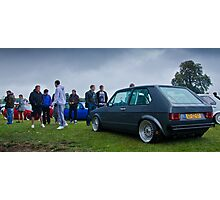 MK1 Golf VR6 On The Show Ground Photographic Print
