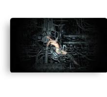 Cyborg Maintenance Canvas Print