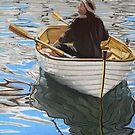 Rowing in the Harbour by Louise De Masi