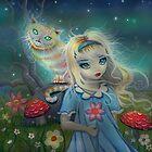 Alice in Wonderland by Molly Harrison by Molly  Harrison