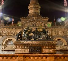 Soldiers' and Sailors' Monument (det.) by albino