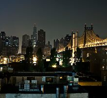 Manhattan from Queens. by Dustin Kukuk