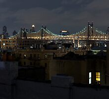 Queens Rooftop. by Dustin Kukuk