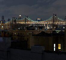 Queens Rooftop. by Dustin Kukuk