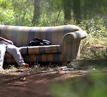 Lounge in the Woods by yolanda