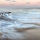 Ocean Waterfall by Annette Blattman
