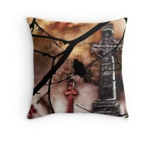 Sing Your Song Darkly Throw Pillow