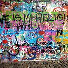 Lennonova Zed (John Lennon&#x27;s wall) by Manuel Gonalves