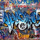 Lennonova Zed (Jonh Lennon&#x27;s wall) by Manuel Gonalves