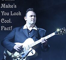 Playing The Guitar Make's You Look Cool. Fact! by Laura Horgan