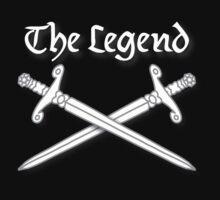 Legendary T-shirt by patjila