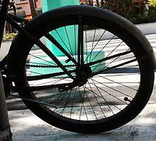 Hub and Spokes by Rene  Triay