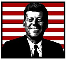 John F. Kennedy by OTIS PORRITT