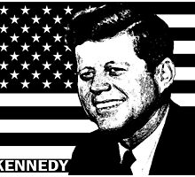 """JFK"" JOHN KENNEDY by OTIS PORRITT"