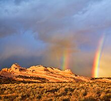 Rainbows Over the Ships Trail by Kim Barton