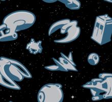 Objects in Space - STICKER Sticker