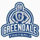 GreenDale Football - STICKER by WinterArtwork