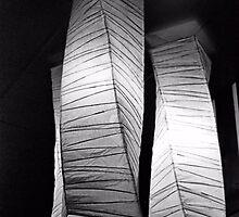 Paper Lampshades by Bob Wall