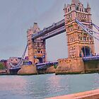England - London Bridge by Jerry L. Barrett