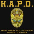 HAIGHT ASHBURY POLICE DEPT. color by GUS3141592