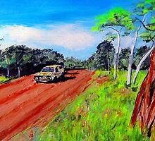 ON THE ROAD AGAIN .... by gillsart