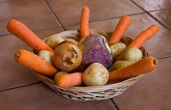 Root crops by BizziLizzy