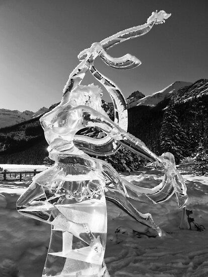 The Angel of Lake Louise by Ryan Davison Crisp