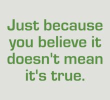 Just Because You Believe It by Nwyvre