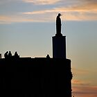 St Elmo Sunset Silhouette by CiaoBella
