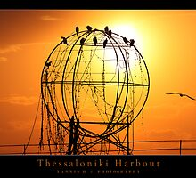 Thessaloniki Harbour by Yannis Hatzianastasiu
