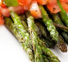 Asparagus Side Dish by Charlotte Lake