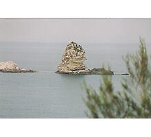 LA LEGGENDA DI PIZZOMUNNO-VIESTE-ITALIA- 3000 VISUALIZZAZ E PIU' --- RB EXPLORA VETRINA 2 DICEMBRE 2011----ITALY-- Photographic Print