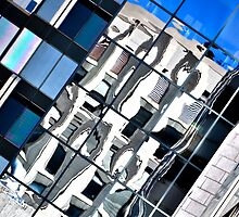 Montreal Reflections XV by Valerie Rosen