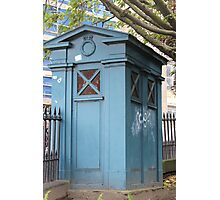 Old Fasioned Police Box Photographic Print