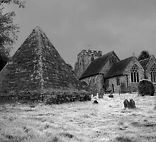 St Thomas Becket and the Pyramid by Dave Godden