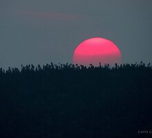 Sunset over the Harbor - Marathon Ontario Canada by loralea