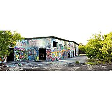 Cold War Relic - abandoned Nike Missile site Photographic Print