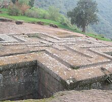 Bet Giorgis (St. George's Church), Lalibela, Ethiopia by Bonnie MacAllister