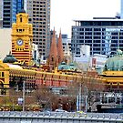 Flinders Street Station by Nicki Baker