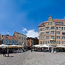 Malmo Sweden - Food Square - Pana by Rosestone