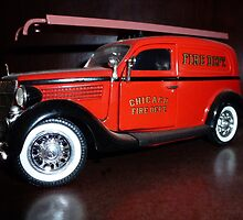 Fire Truck by Nadya Johnson