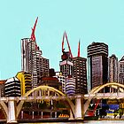 Brisbane City by Ken Finch