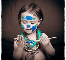 Facepaint 11 by Samantha Van Stralendorff
