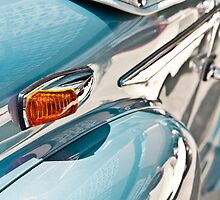Turquoise Classic Car by Photofreaks