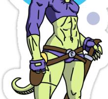 Zaura - Intergalactic Bounty Hunter Sticker