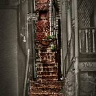 The Haunted Stairway From Past To Present by Kris Graves
