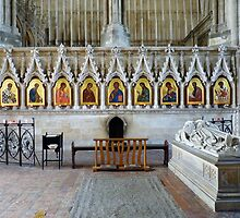 The St Swithern Icons, Winchester Cathedral, England by artfulvistas