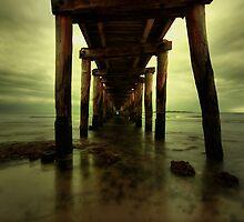 Lonsdale Pier - Pt Lonsdale Victoria by Graeme Buckland